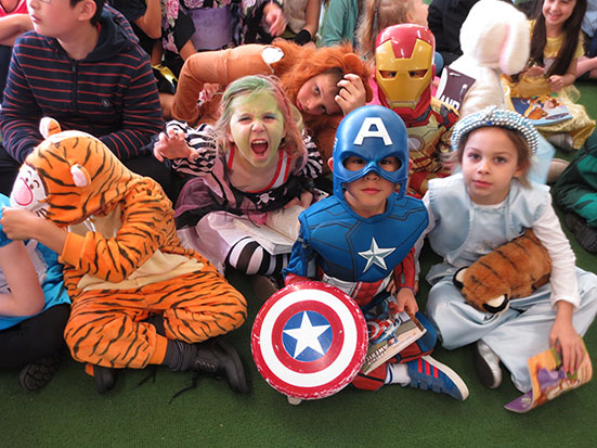 Some of the fabulous costumes from the Book Week Parade