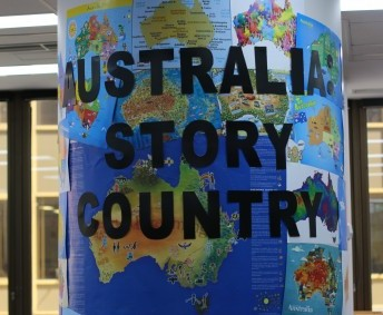 Book Week 2016 Australia: Story Country library display