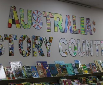 Book Week 2016 Junior School students decorated these letters for a library display