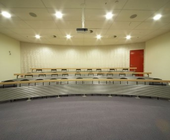Library Theatre. This space can be booked by contacting library staff.