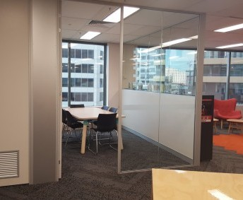 SENIOR SCHOOL STUDY ROOMS: 4 individual study rooms, with seating for 4 in each, perfect for small group study