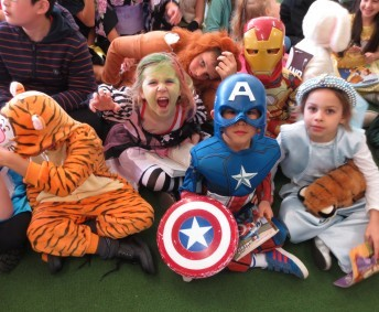 Book Week 2015 Junior School dressed up for the Book Week Parade