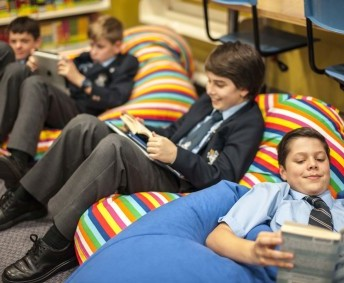 Students can also visit the library during lunchtimes.