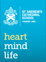 ST ANDREW'S CATHEDRAL SCHOOL Founded 1885 heart mind life
